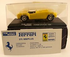 Top Model Collection TMC 001 Ferrari 375 MM 1954 Gialla 1/43 scale inbox