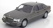 NOREV 1997 Mercedes Benz S600 W140 V12 Grey Metallic 1:18 LE 1000*New Item!