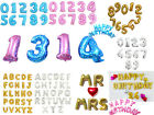 New Colors Foil Letter Number 40