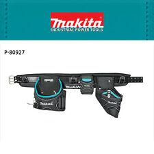 Makita Work Utility Tool Belt w/ Pouches for Carpenter Electrician Construction