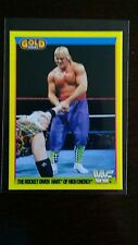 RARE - Owen Hart ROOKIE Card - Merlin WWF 1992 Gold Series 2 Cards - MINT Con