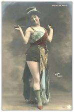 5 dvds of Photo Glamour Miss World AutoGraph 19th century French Risque Postcard