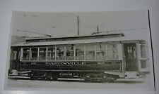 USA595 - BURLINGTON COUNTY TRACTION Co - TROLLEY No507 PHOTO New Jersey