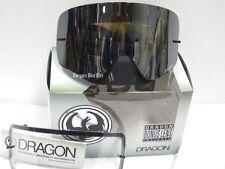 DRAGON NFX ROCKSTAR FRAMELESS MOTOCROSS GOGGLES NEW Ionized Lens & FREE LENS!