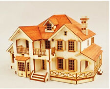Country house / Wooden model kit