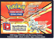 POKEMON ONLINE CODE CARD FROM THE 2013 WHITE KYUREM TIN