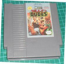 BAD DUDES 1990 nes nintendo vs. dragon ninja data east arcade us NTSC USA IMPORT