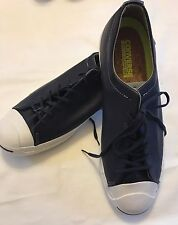 Nwob Converse JP Jack Purcell Tumbled Leather Dark Navy 151498C Men 11.5 EU 46