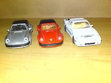 Porsche 911 SC & 914 SS Auto Sammlung 1:34 mit Rückziehmotor Rarität Sammler