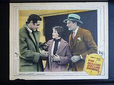 1925 THE MILLION DOLLAR HANDICAP - LOBBY CARD - SILENT - HORSERACING ROMANCE