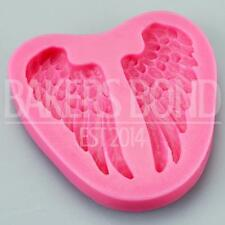 Angel Wings Silicone Mould Bakeware Baking Cake Cupcake Topper Religious Icing