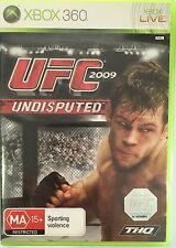 UFC 2009 UNDISPUTED XBOX 360 GAME