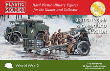 Plastic Soldier 1/72 British 25pdr & CMP Quad Tractor # WW2G20007