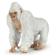 Papo 50204 Albino White Gorilla Model Wild Jungle Animal Figurine Toy 2016 - NIP