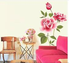 Flower Removable Bedroom Art Mural Vinyl Wall Sticker DIY Decal Home Decor
