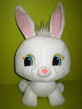 Peluche Grand Lapin Blanc PetShop (H43cm avec les oreilles )  d'occasion