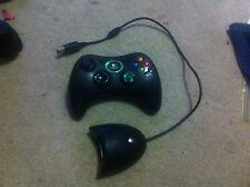 Original Xbox Wireless logitech controller reciever plus damaged controller