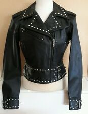 Harley davidson womens leather jacket 100th Anniversary limited ed embossed med