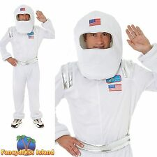 SCI-FI ASTRONAUT SPACE MAN NASA HALLOWEEN - One Size - mens fancy dress costume