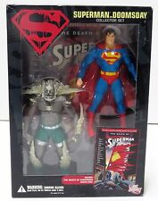 Superman Vs Doomsday DC Direct la muerte de Superman Coleccionista Figura De Acción Set
