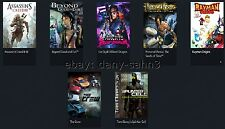 ▓▒░ PC SPIELE - The Crew, Assassins Creed 3 III, Prince of Persia, Rayman Origin