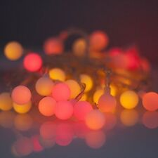 40 LED, Multi Colour Party Lights (Sunset lights - red, orange and yellow LEDs)