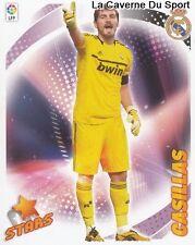 02 CASILLAS (STAR) ESPANA REAL MADRID FC Porto STICKER CROMO LIGA 2013 PANINI