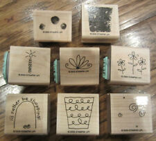 """2005 Retired Stampin' Up """"Fun Filled"""" Shopping, Bloom, For You, Make A Wish"""
