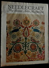 Needlecraft Home Arts Magazine March 1933  FASHIONS NEEDLEWORK PATTERNS CRAFTS