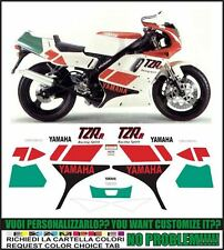 kit adesivi stickers compatibili tzr 125 r 1992 4dl sp