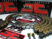 CBR300R '14-16 JT GOLD X-Ring CHAIN AND SPROCKETS KIT  OEM ,Quick Accel or Fwy