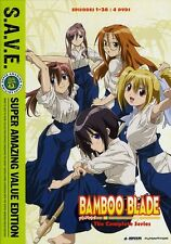 Bamboo Blade: The Complete Series [S.A.V.E.] [4 Di (2011, DVD NEUF) WS4 DISC SET