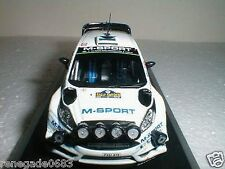 FORD FIESTA RS WRC 2015  TANAK RALLY SWEDEN  IXO DIE CAST COLLECTION