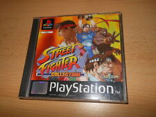 Street Fighter Collection (PlayStation PS1) 2 disc  PAL FREE UK POST