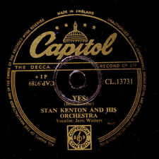STAN KENTON & HIS ORCH. Yes (Vocal by Jerri Winters) / Mambo Rhapsody    X1399