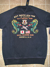 "Mens $185 (S) POLO-RALPH LAUREN Training Base-JAPAN-Dragon"" Crewneck Sweatshirt"