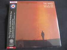 THE WHO, Live at the Spectrum: Live Philadelphia 1973, 2x CD Mini LP, EOS-428