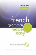 French Grammar Made Easy by Rosi McNab (Paperback, 2005)
