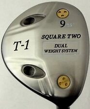 Square Two T-1 Dual Weight Regular Flex 9 Fairway Wood Golf Club 26 Degree