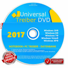 Universal Treiber CD/DVD★ Windows 7 / 8 / 10 / XP Vista (32 & 64Bit)★ NEU★