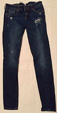 Abercrombie & Fitch Women's Distressed Skinny Jeans Size 2 EUC!!!
