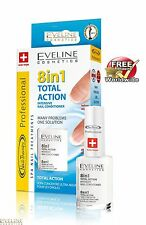 TOP PRICE Intensive Nail Conditioner EVELINE 8 in 1 TOTAL ACTION - Free DELIVERY