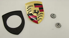 NEUF d'origine Porsche 911 924 924S 944 968 964 928 912 capot badge Kit