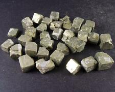 100g Natural Raw Rough Pyrite Fool Gold Cubes Wealth Luck Crystal Mineral Stones