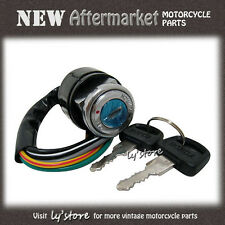 [35.1] HONDA CL70 SL100 SL125 XL100 CB100 CL100 CB125S IGNITION SWITCH *7WIRES*