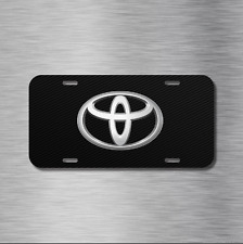 Toyota Vehicle Aluminum License Plate Auto Car NEW camry 86 yaris corolla rav 4