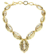 NWT Amrita Singh Real Housewives Camilla Shells Champagne Necklace NKC 3005