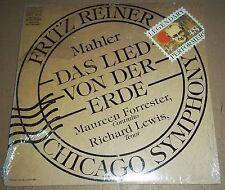 Reiner/Forrester/Lewis MAHLER Das Lied von der Erde - RCA AGL1-5248 SEALED