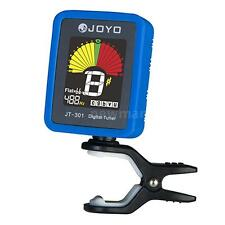 Joyo JT-301 Clip-on Electric Digital Tuner with Silica Gel Cover for Guitar Z6U3