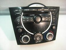2004-2008 MAZDA RX-8 RX8 OEM CD PLAYER STEREO RADIO CLIMATE CONTROL BEZEL FE04